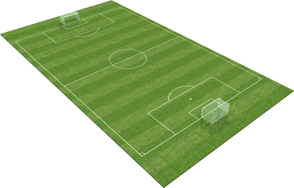 CCGrass synthetic turf for football pitch