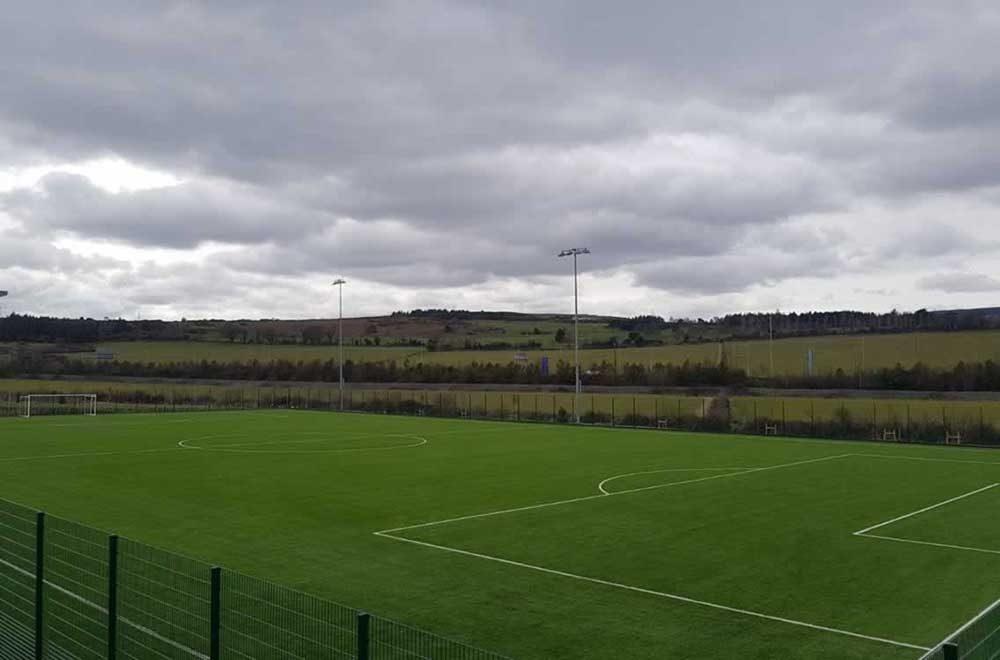 Rugby turf field-Beckett Park, Ireland